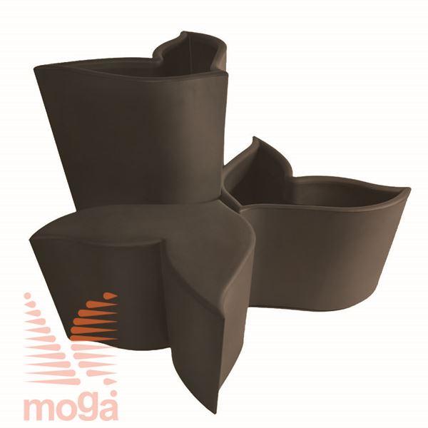 Sedalo Foglia |Bronasta|FI max: 84,4 cm x V: 50,7 cm|