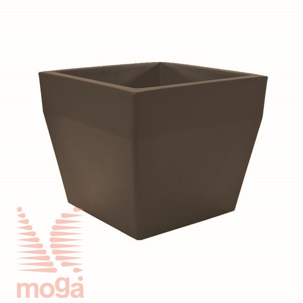 Lonec Acquario - kvadraten |Bronasta|D: 40/34 cm x Š: 40/34 cm x V: 34cm|Vol: 36 L|