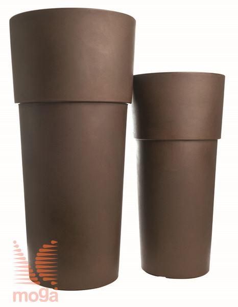 Lonec Aquila - okrogel |Bronasta|FI: 28,8/22,2 cm x V: 60/19 cm|