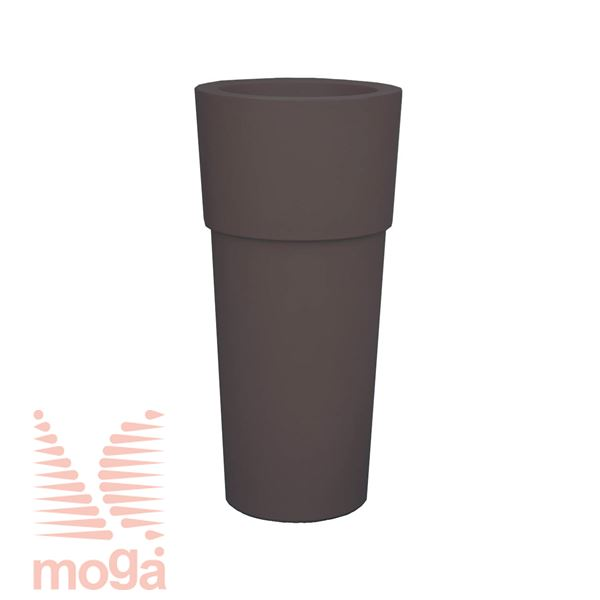 Lonec Aquila - okrogel |Antracit|FI: 48/37 cm x V: 100/30 cm|