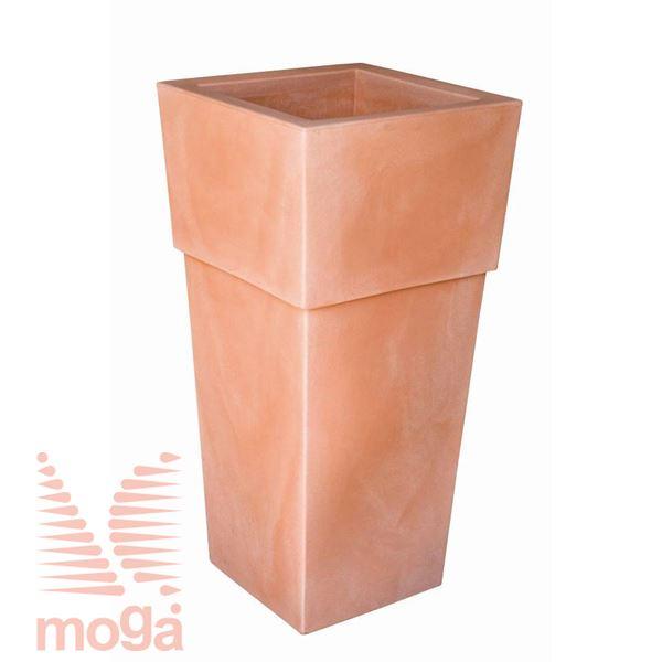 Lonec Aquila - kvadraten |Siena|D: 48/37 cm x Š: 48/37 cm x V: 100/29,5 cm|