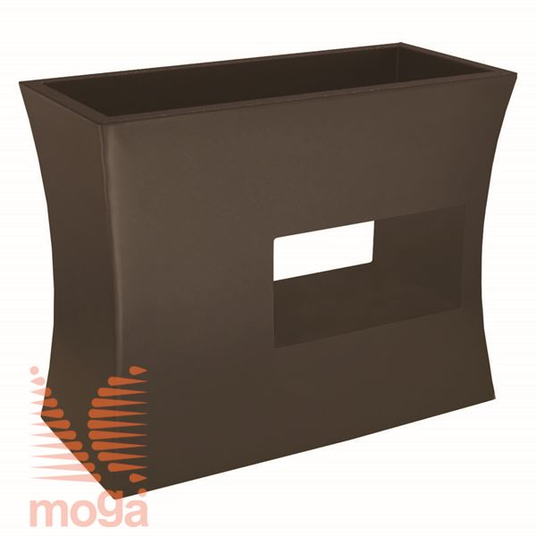 Lonec Argo |Bronasta|D: 100/92 cm x Š: 45/37 cm x V: 80/25 cm|