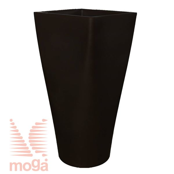 Lonec Auriga |Črna|D: 50/42 cm x Š: 50/42 cm x V: 100/25 cm|