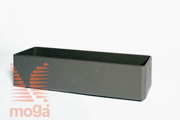 Lonec Balconia |Antracit|D: 60 cm x Š: 17 cm x V: 17 cm|Vol: 13,6 L|