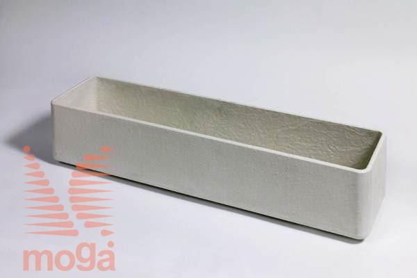 Lonec Balconia |Siva|D: 40 cm x Š: 17 cm x V: 17 cm|Vol: 8,2 L|