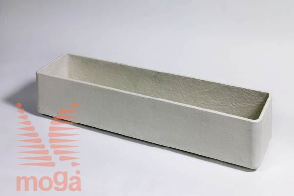 Lonec Balconia |Siva|D: 80 cm x Š: 17 cm x V: 17 cm|Vol: 18,4 L|