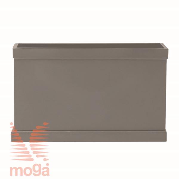 Lonec Berenice |Golobje siva|D: 64/60,5 cm x Š: 27/24,5 cm x V: 38,5 cm|