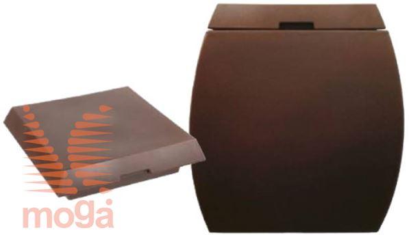 Lonec Boote |Bronasta|D: 50/34 cm x Š: 50/34 cm x V: 50 cm|