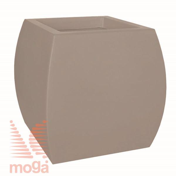 Lonec Boote |Golobje siva|D: 50/34 cm x Š: 50/34 cm x V: 50 cm|