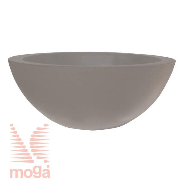 Lonec Cefeo |Golobje siva|FI: 40/35,5 cm x V: 16 cm|Vol: 13 L|