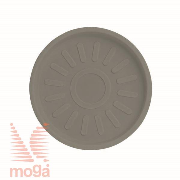 Podstavek Cratere - okrogel |Golobje siva|FI: 46/41 cm|za lonec vol: 91 L|