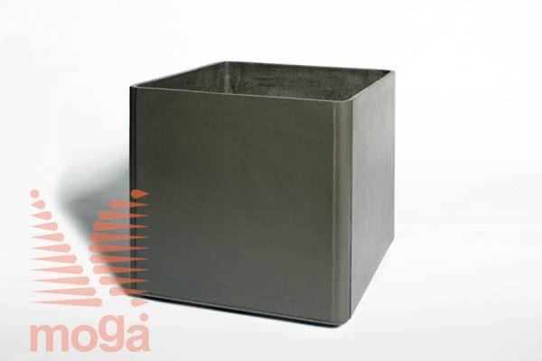 Lonec Delta 45 - kvadraten |Antracit|D: 45 cm x Š: 45 cm x V: 45 cm|Vol: 80 L|