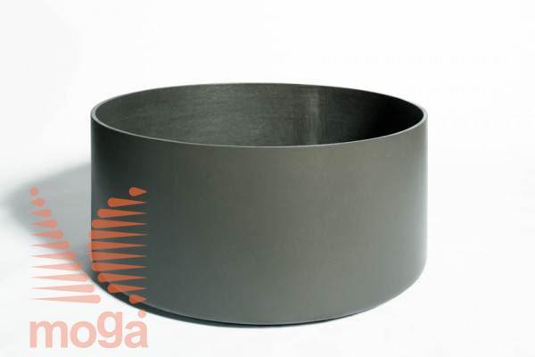 Lonec Delta 45 - okrogel |Antracit|FI: 50 cm x V: 45 cm|Vol: 88 L|