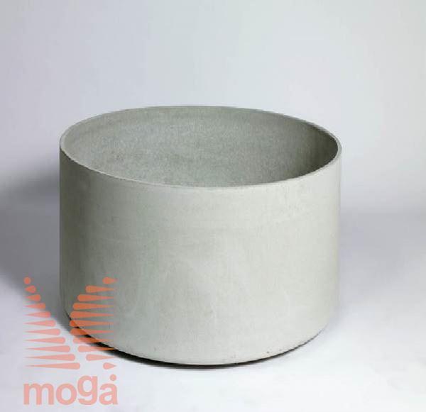 Lonec Delta 60 - okrogel |Siva|FI: 75 c. x V: 60 cm|Vol: 265 L|