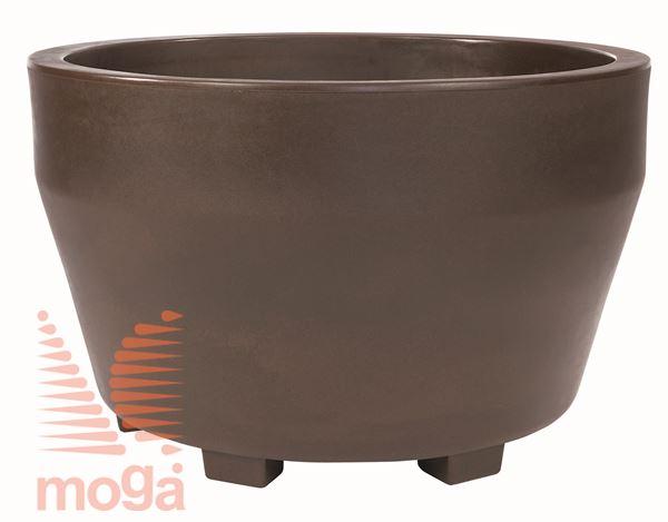 Lonec Jumbo |Bronasta|FI: 160/145 cm x V: 83/73 cm|Vol: 1250 L|