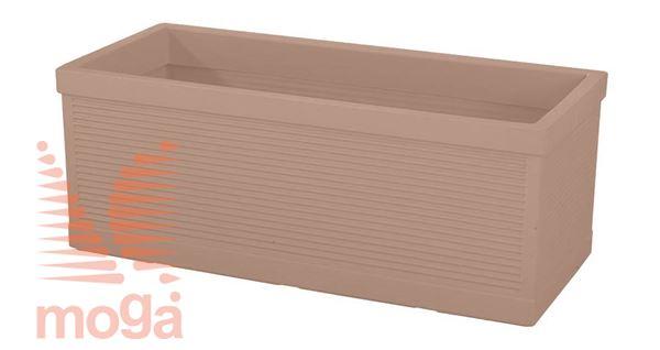 Lonec Millerighe - pravokoten |Siena|D: 100/92 cm x Š: 45/38 cm x V: 38 cm|Vol: 152 L|