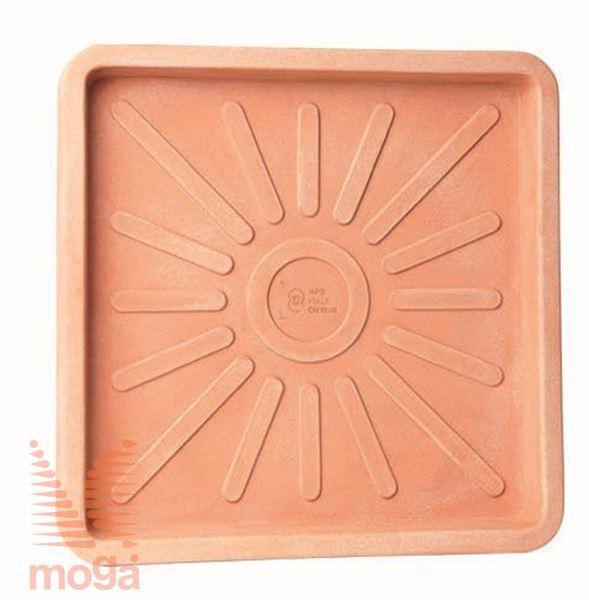 Podstavek Millerighe - kvadraten |Siena|D: 34/29 cm x Š: 34/29 cm|za lonec vol: 20 L|