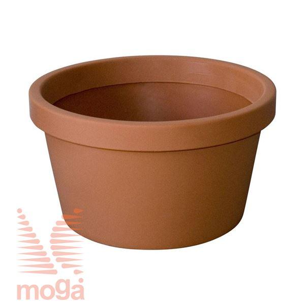 Lonec Norma |Terakota|FI: 60/54,5 cm x V: 32 cm|Vol: 54 L|