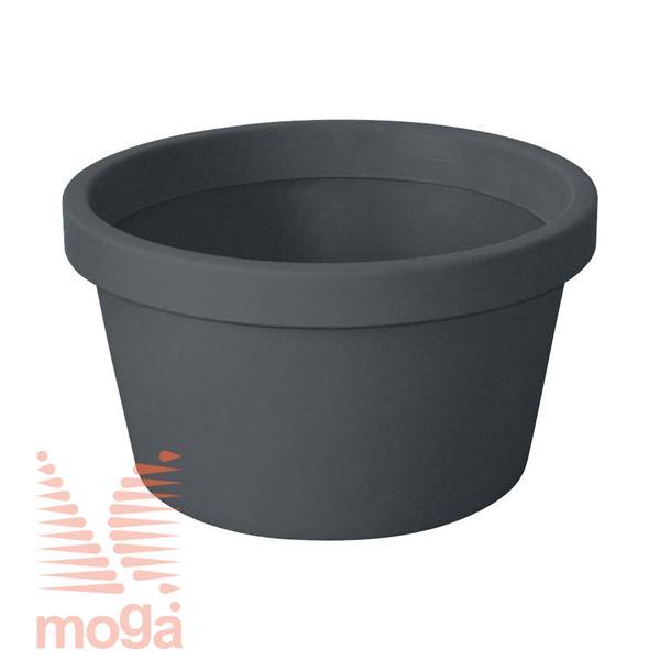Lonec Norma |Antracit|FI: 50/45 cm x V: 28 cm|Vol: 33 L|