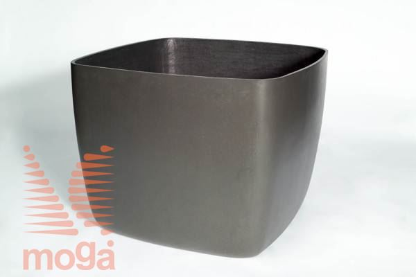 Lonec Osaka |Antracit|D: 44 cm x Š: 44 cm x V: 45 cm|Vol: 60 L|