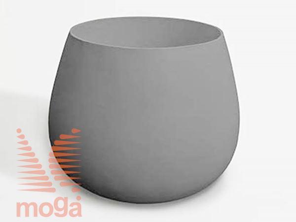 Lonec Ronco X-tra |Siva|FI: 142,9 cm x V: 110 cm|Vol: 1400 L|