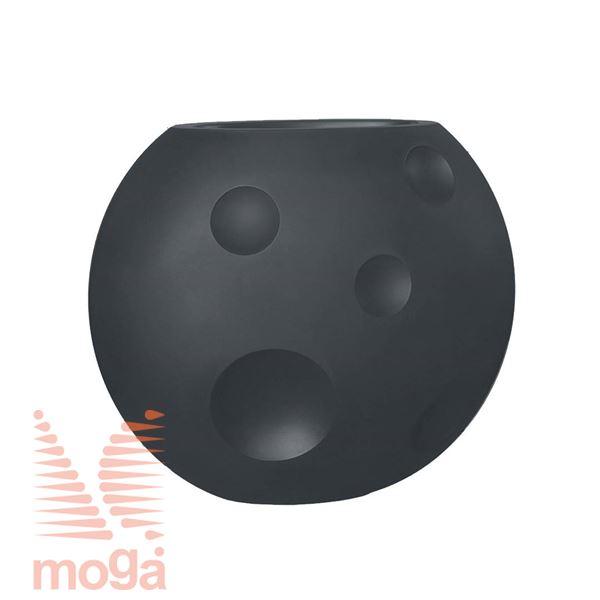 Lonec Scudo |Antracit|D: 90/48 cm x Š: 50/23 cm x V: 75/28 cm|