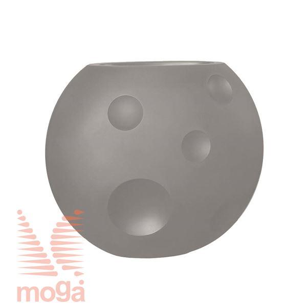 Lonec Scudo |Golobje siva|D: 90/48 cm x Š: 50/23 cm x V: 75/28 cm|