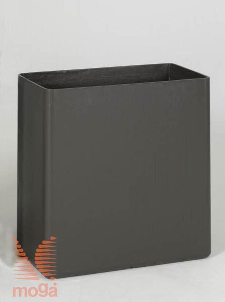 Lonec Sessanta6 |Antracit|D: 66 cm x Š: 33 cm x V: 66 cm|Vol: 120 L|