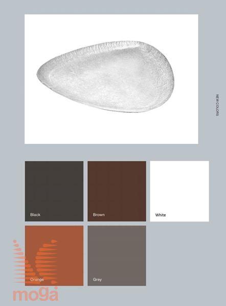 Podstavek Tokyo |Oranžna mat|D: 44 cm x Š: 44 cm x V: 5,5 cm|za lonec vol: 45 L|