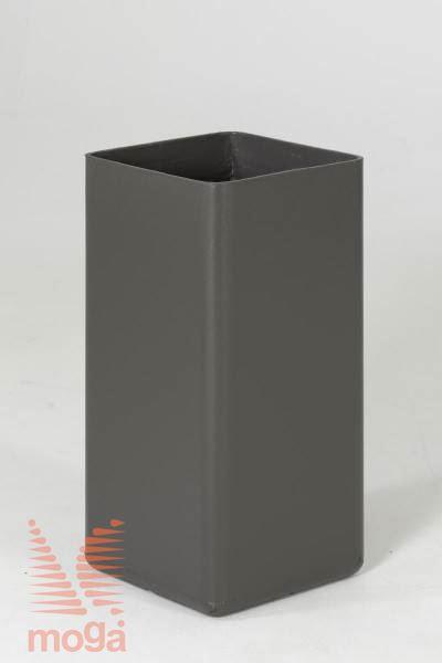 Lonec Trenta3 |Antracit|D:  33 cm x Š: 33 cm x V: 66 cm|Vol: 60 L|