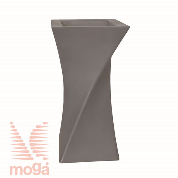 Lonec Triangolo |Golobje siva|D: 55/38 cm x Š: 55/38 cm x V: 100/26 cm|