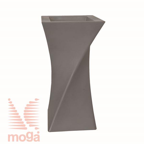 Lonec Triangolo |Golobje siva|D: 44/31 cm x Š: 44/31 cm x V: 80/20 cm|
