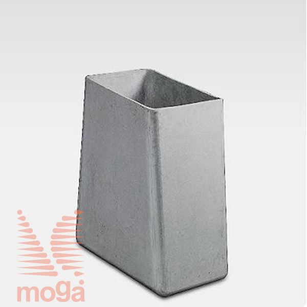 Lonec Twista |Siva|D: 60 cm x Š: 30 cm x V: 60 cm|Vol: 85 L|