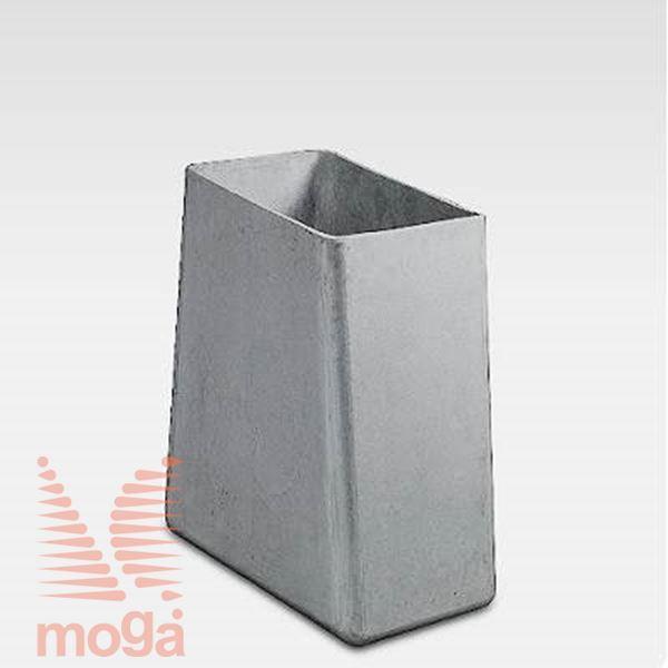 Lonec Twista |Siva|D: 60 cm x Š: 60 cm x V: 60 cm|Vol: 170 L|