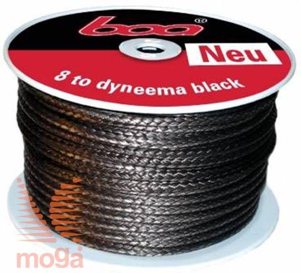 Boa vrv Dyneema |Črna|8 t|FI: 10 mm|25 m|