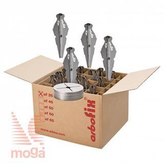 Arbofix stabilizator rastline |Af: 35 cm|Za obseg debla 14/18 cm|25 kos|