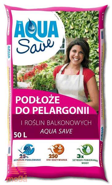 Substrat za balkonsko cvetje Aqua Save |50 L|