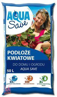 Substrat za cvetoče rastline Aqua Save |20 L|
