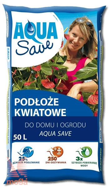 Substrat za cvetoče rastline Aqua Save |50 L|