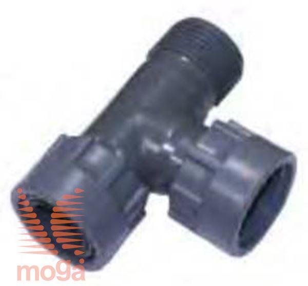 "T-spojka PVC |1"" Ž x 1"" Ž x 1"" M|PN10|Manifold|"
