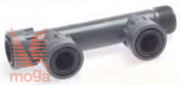 Manifold sistem PVC |2 priklopa|Z ženskim priklopom|PN10|Manifold|