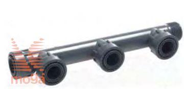 Manifold sistem PVC |3 priklopi|Z ženskim priklopom|PN10|Manifold|