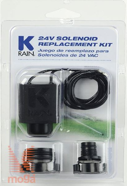 Nadomestna tuljava 24V |+ adapter za Hunter in Rain Bird ventile|K-Rain|