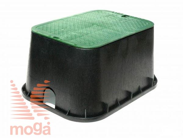 Ventilski jašek standard s pokrovom|432 mm x 298 mm x 152 mm|