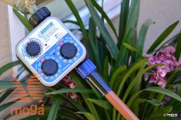 Analogni časovnik za vrtno cev |Zunanji/Notranji|