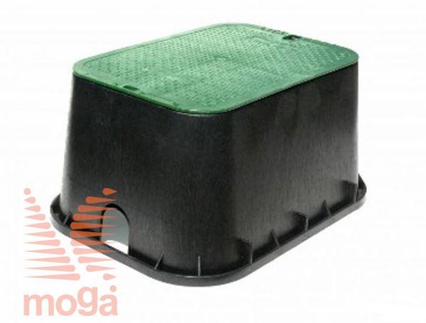 Ventilski jašek standard s pokrovom|508 mm x 381 mm x 305 mm|