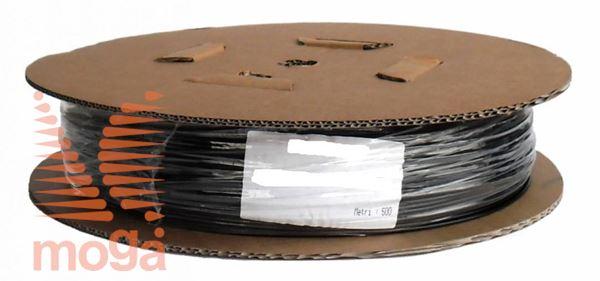Kapilarna cev LDPE - virgin PE |FI: 0,8x3 mm|črna|500m|