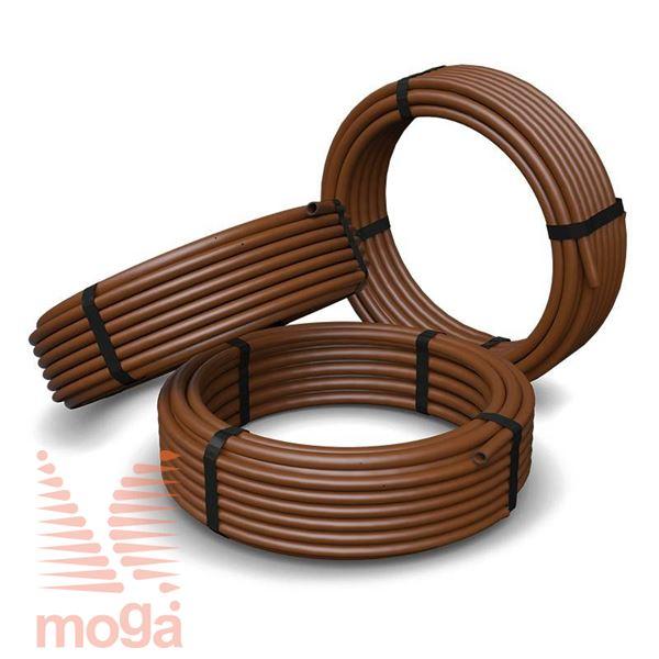 Kapljična cev  Jr. nadzemna Fi:6,35 mm Pr.:1,9 L/h Raz. 15,2 cm Dripline 30,5 m 