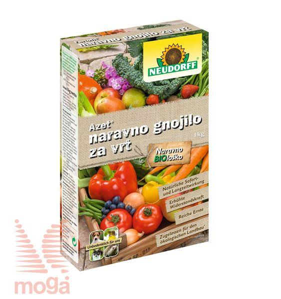 Azet |Organsko gnojilo za vrt|NPK: 7:3:6|1 kg|