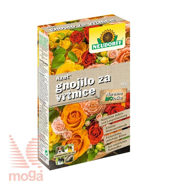 Picture of Azet |Organsko gnojilo za vrtnice|NPK: 7:7:5|1 kg|